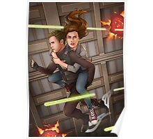 Fitzsimmons - Space Rollerblades Poster
