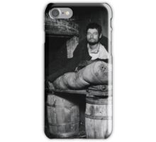 One of four Pedlars Who Slept in the Celler of 11 Ludlow Street Rear,  Jacob Riis,  iPhone Case/Skin