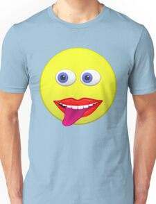 Smiley With Tongue Out Unisex T-Shirt