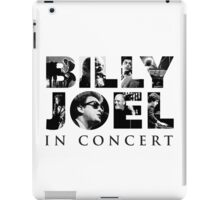 Billy Joel Logo iPad Case/Skin