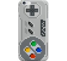 SNES gamepad pixel controller iPhone Case/Skin