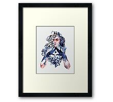Triangle. Framed Print