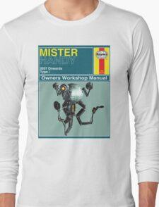 Mister Handy Haynes Manual Long Sleeve T-Shirt