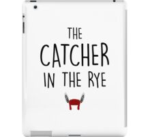 The catcher in the rye iPad Case/Skin