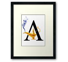 A For Aladdin! Framed Print