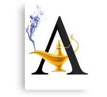 A For Aladdin! Metal Print