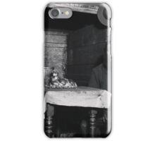 Ready for Sabbath Eve in a Coal Celler, A Cobbler in Ludlow Street,  Jacob Riis iPhone Case/Skin