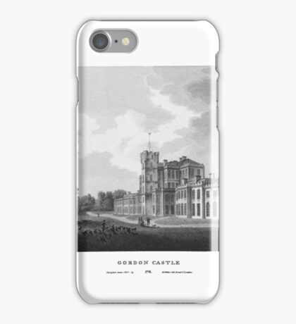 Scotia Depicta by by James Fittler - Etchings of towns, castles and scenery from Scotland in the early 19th century iPhone Case/Skin