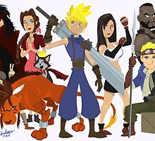 Final Fantasy 7: Complete by Adam Leonhardt