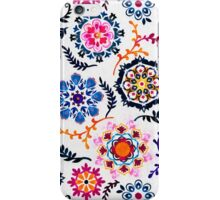 Happy Color Suzani Inspired Pattern iPhone Case/Skin