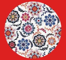 Happy Color Suzani Inspired Pattern Kids Clothes