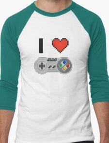 I Love Snes pixel T-Shirt