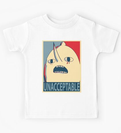 Unacceptable Lemongrab Kids Tee