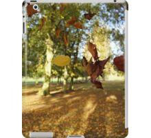 Falling Leaves in Autumn iPad Case/Skin