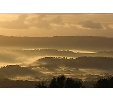 Morning Mist Photographic Print