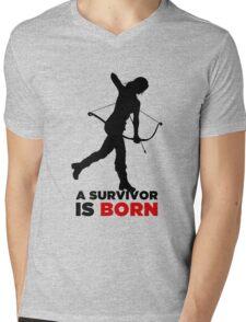 A Survivor is Born [black] T-Shirt