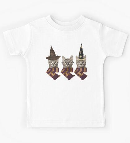 Wizard cats Kids Tee