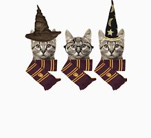 Potter cats Womens Fitted T-Shirt