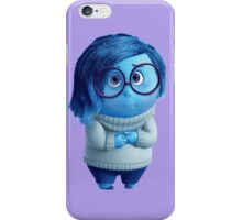 Inside Out Sadness 01 iPhone Case/Skin