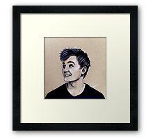 Jack Gleeson Art Framed Print