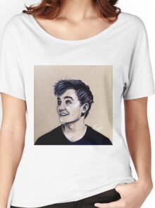 Jack Gleeson Art Women's Relaxed Fit T-Shirt