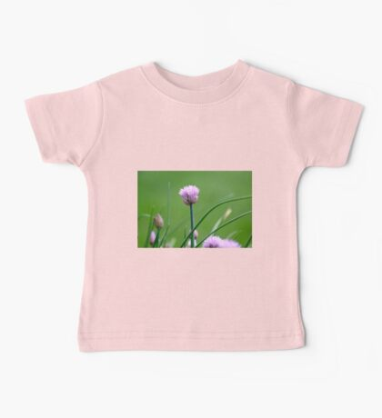 Chive Blossoms 2 Baby Tee