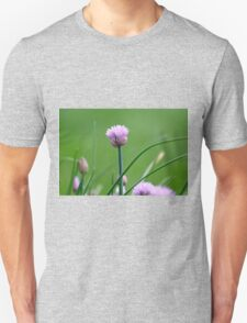 Macro Chive Blossoms 2 T-Shirt