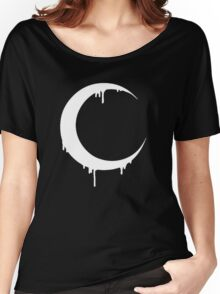 Melting Moon (black) Women's Relaxed Fit T-Shirt