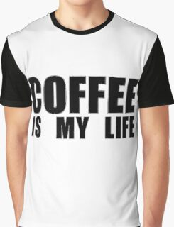 Love Coffee Drink Graphic T-Shirt