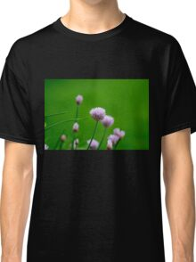 Macro Chive Blossoms 1 Classic T-Shirt