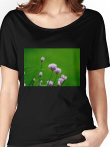 Macro Chive Blossoms 1 Women's Relaxed Fit T-Shirt