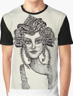 Zentangle Fairy Goddess Graphic T-Shirt