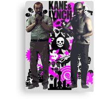 Kane & Lynch Metal Print