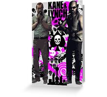 Kane & Lynch Greeting Card