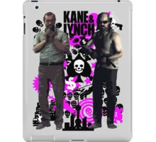 Kane & Lynch iPad Case/Skin