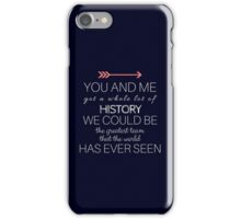 1D - HISTORY - MIDNIGHT BLUE iPhone Case/Skin