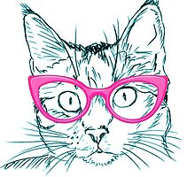 Hipster Cat by Wonderful DreamPicture