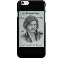 Fedya Dolokhov Portrait with Quote iPhone Case/Skin