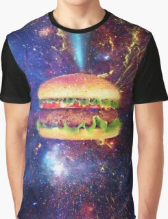 Hamburger spaceship Graphic T-Shirt