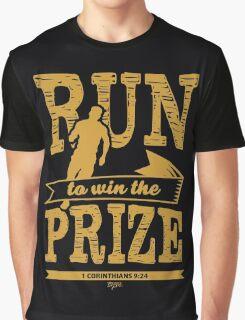 Christian T-Shirt: Run to Win the Prize 2 Graphic T-Shirt
