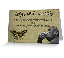 Funny Valentines Day Card Greeting Card
