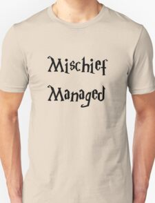 Harry Potter Mischief Managed Marauder's Map Unisex T-Shirt