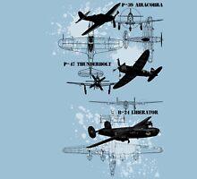 Three Planes Unisex T-Shirt