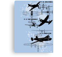 Three Planes Canvas Print