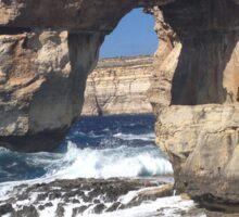 Azure Window, Gozo Sticker