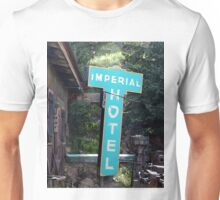 Imperial Hotel Sign, Cripple Creek Unisex T-Shirt