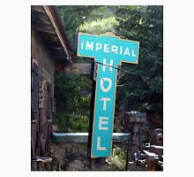 Imperial Hotel Sign, Cripple Creek Unisex T-Shirt