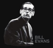 Bill Evans T-Shirt by rdbbbl