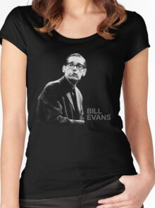 Bill Evans T-Shirt Women's Fitted Scoop T-Shirt