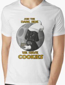 Star Wars - Dark Side has cookies! Mens V-Neck T-Shirt